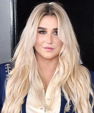 """Kesha Hits the Grammys Red Carpet in a Suit Representing Her """"Place of Empowerment"""""""