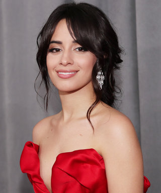 Camila Cabello Interrupted Her Red Carpet Interview to Adjust Her Cleavage