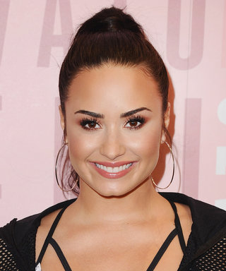Demi Lovato Is Feeling Confident, Strips Down to White Lace Lingerie