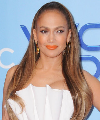 Jennifer Lopez Shows Off Her Toned Legs in the Shortest Little Dress