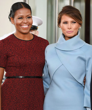 Michelle Obama Dishes on What Was Inside That Tiffany & Co. Box from Melania Trump