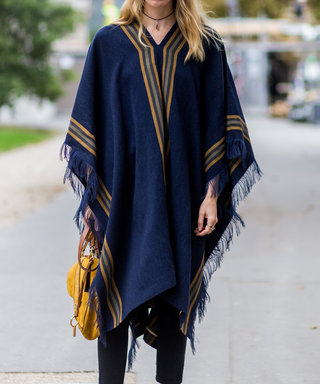 Ponchos To Wear When You Can't Stand Any Of Your Sweaters