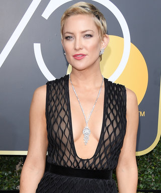 Bet You Didn't See The $33 Secret Kate Hudson Wore to the Golden Globes