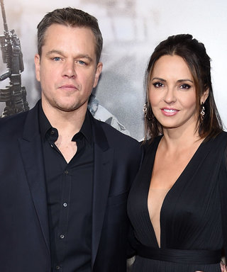 Matt Damon's Wife Luciana Barroso Hits The Red Carpet In A Sheer, All-Black Dress