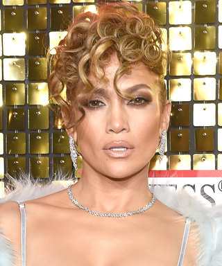 Jennifer Lopez's Curly Updo Proves That the '80s Are Back