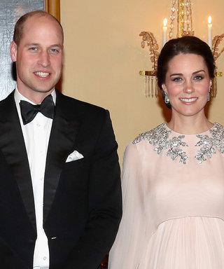 Kate Middleton's Floor-Sweeping Cape Gown Is by Her Wedding Dress Designer