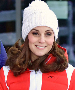 Pregnant Kate Middleton Trades In Her Classic Coat for a Puffy Ski Jacket