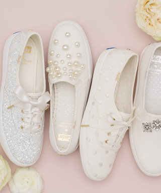 Are Bridal Sneakers the Trend of the Future? Kate Spade and Keds Just Launched a Comfy Collection