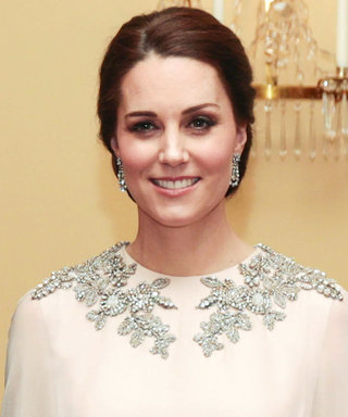Kate Middleton Pulls a Meghan Markle in a Sheer Dress