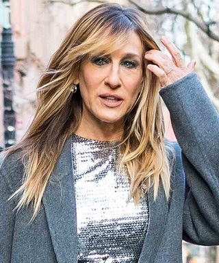 Sequins and Bangs! Sarah Jessica Parker Debuts a Completely New Look
