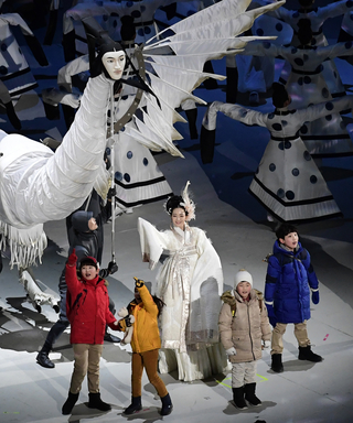 See How Celebrities Reacted to the Winter Olympics Opening Ceremony