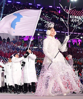 North and South Korea Walk Under the Same Flag at the Olympics, in a Symbol of Peace