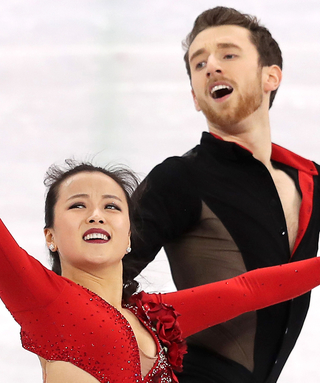 """WatchTwo Olympic Figure Skating CouplesExpertly Dance to """"Despacito"""""""