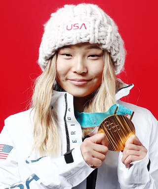 Chloe Kim Didn't Cry After Winning Olympic Gold Because of Her Eyeliner