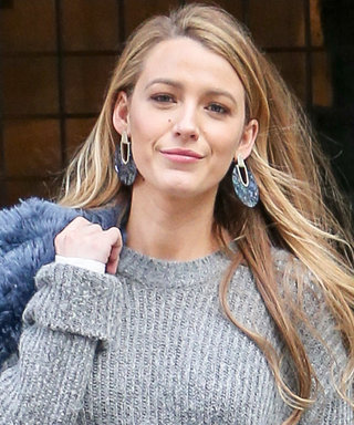 Blake Lively Wears a Sweater with No Pants—and the Look's Even More Unexpected from the Back