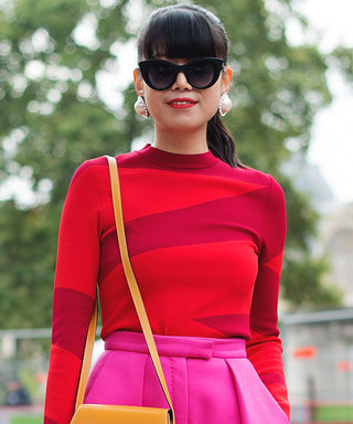 5 Head to Toe Pink and Red Outfits That Aren't Overwhelming