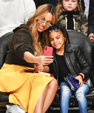 Beyoncé and Blue Ivy Steal the Show at the NBA All-Star Game