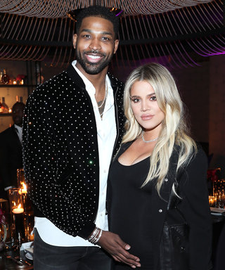 Pregnant Khloé Kardashian and Tristan Thompson Coordinate in Stylish Black Outifts