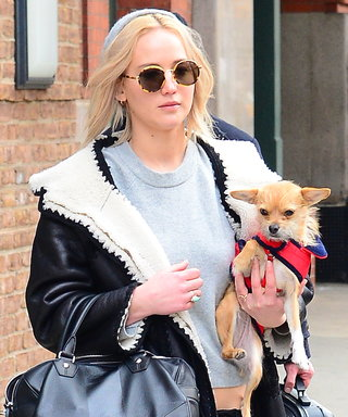 "Jennifer Lawrence Did ""the Unthinkable"" and Cleaned Up Her Dog's Poop Herself"