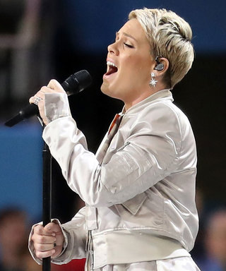 Pink Sang the Super Bowl National Anthem with the Flu and NAILED It