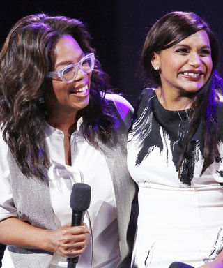 Oprah's Baby Gift for Mindy Kaling Was So Big, It Arrived in a U-Haul