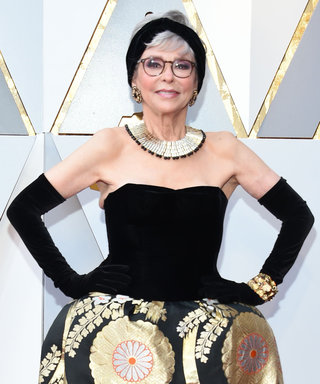 Rita Moreno's Oscar Dress Is the EXACT One She Wore to the 1962 Academy Awards