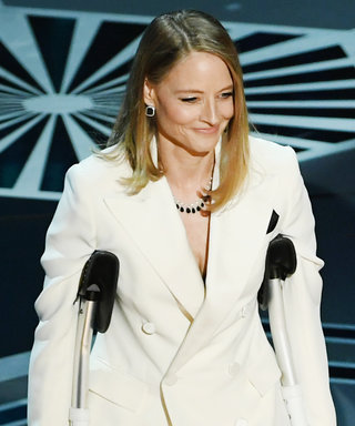 We Finally Know Why Jodie Foster Was on Crutches