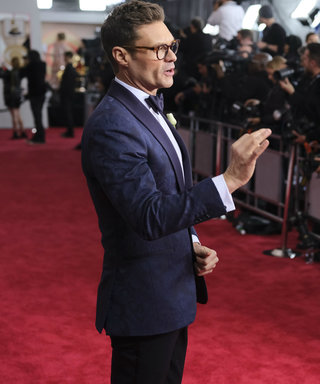 E! Is Happywith Ryan Seacrest's Oscars Coverage Despite Relatively Quiet Red Carpet