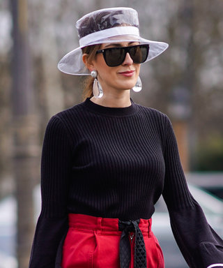 Chanel Is Selling a $1,150 Plastic Rain Hat—and People Are Actually Wearing It