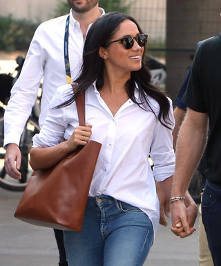 The Sold-Out Jeans Meghan Markle Loves for Dates with Prince Harry Are Back in Stock