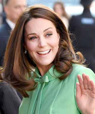 Pregnant Kate Middleton Goes Bold in a Color She Almost Never Wears