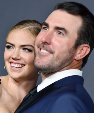 Kate Upton's Wedding Reception Dress Is Completely See-Through