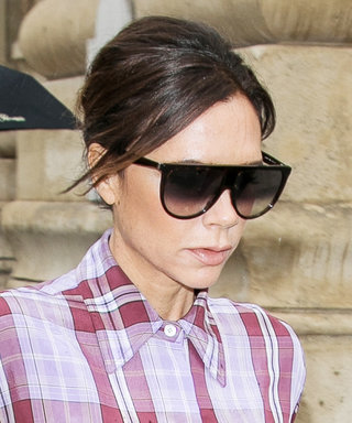 Victoria Beckham Shows Us How to Stylishly Handle a Rainy Day