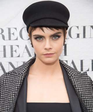 Cara Delevingne Brought Back This Trending Hair Color for Spring