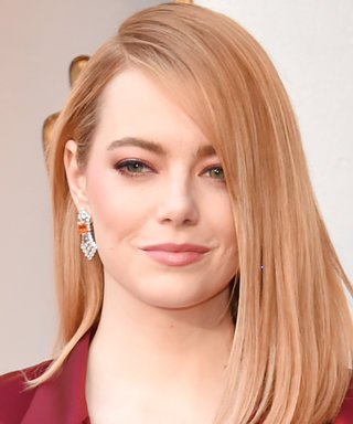 Emma Stone Oscars 2018 Red Carpet Look