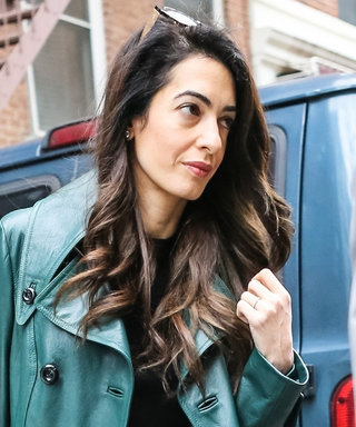 Amal Clooney's Spring Wardrobe Features the Chicest Raincoat We've Ever Seen
