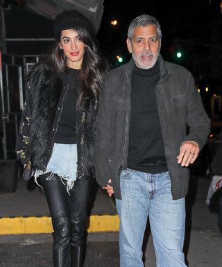 Amal Clooney Wore Daisy Dukes in a Totally Unexpected Way for Date Night with George