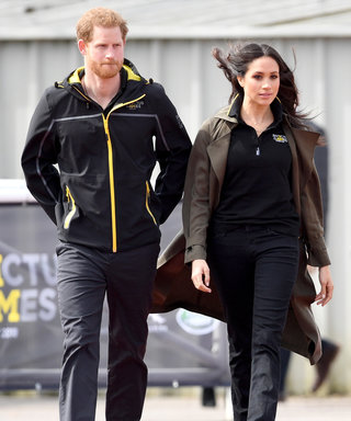 Meghan Markle Wore Jeans and a Logo Shirt on a Royal Engagement