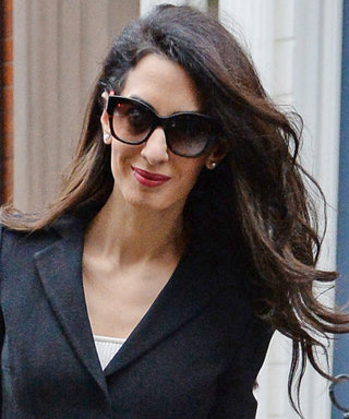 Amal Clooney Found a Way to Wear a Cropped Jacket to Work