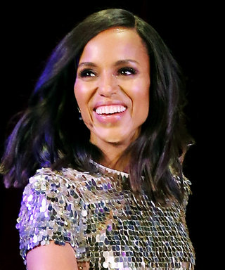Kerry Washington Found the Comfortable Party Shoes You've Been Looking For