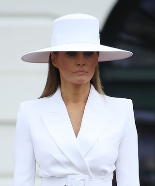 A Theory About Melania Trump's Giant Hat