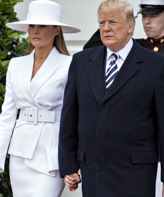 Melania Trump Awkwardly Tries to Avoid Holding Donald Trump's Hand Once Again