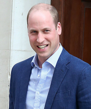 Prince William Can't Keep His Eyes Open During Church Service Two Days After His Son's Birth