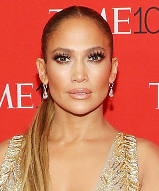 Jennifer Lopez Makes a Return to the Red Carpet in the Ultimate Plunge Dress