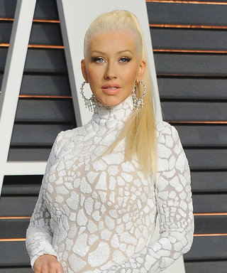 Christina Aguilera Celebrates Her Freckles with a Makeup-Free Photo as She Gets a New Piercing