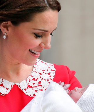 Kate Middleton's New Baby Boy Had a Special Visitor on Tuesday