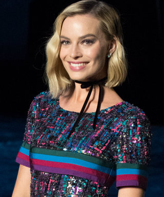 Margot Robbie Wears the Ultimate Parisian Accessory at Chanel's Cruise Collection Show