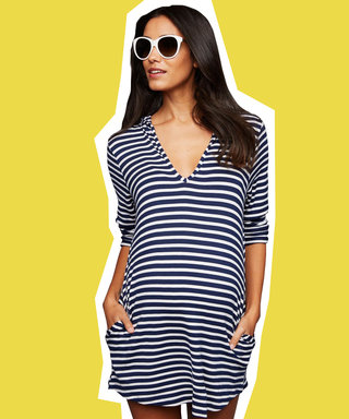 10 Maternity Swimsuit Cover-Ups to Get You Through The Summer