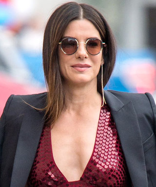Sandra Bullock Found the PrettyJumpsuit You've Been Looking For