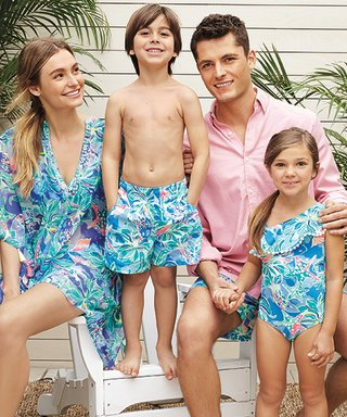 Exclusive: Here's Your First Look at Lilly Pulitzer's Swimsuits for the Whole Family